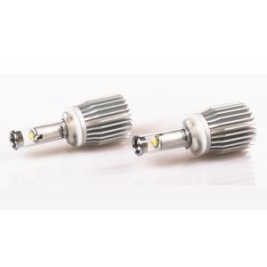 Светодиодная лампа H27/880 Optima LED Fog, CREE, 5100K, 12-24V, (PG13), комплект 2 лампы, 2700Lm на комплект