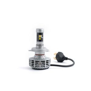 Светодиодная лампа H4 Optima LED Premium 4200K, 3600Lm с лампы, чипы CREE-XHP-50 и PHILIPS QX65 9-36V, комплект 2 шт.