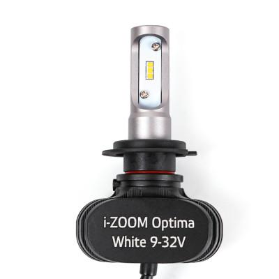 Светодиодная лампа H7 Optima LED i-ZOOM WW комплект арт: i-H7-WW