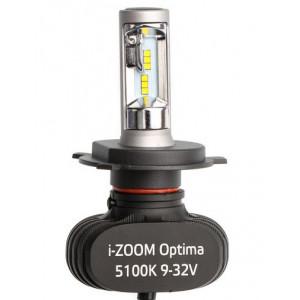 Светодиодная лампа H4 Optima LED i-ZOOM комплект
