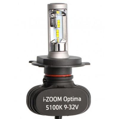 Светодиодная лампа H4 Optima LED i-ZOOM комплект арт: i-H4