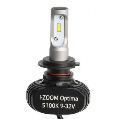 Светодиодная лампа H7 Optima LED i-ZOOM комплект арт: i-H7