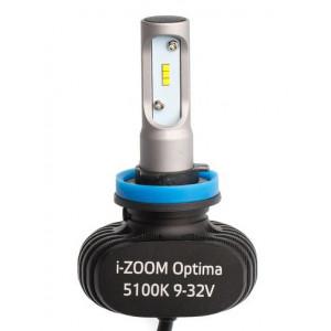 Светодиодная лампа H8 Optima LED i-ZOOM комплект