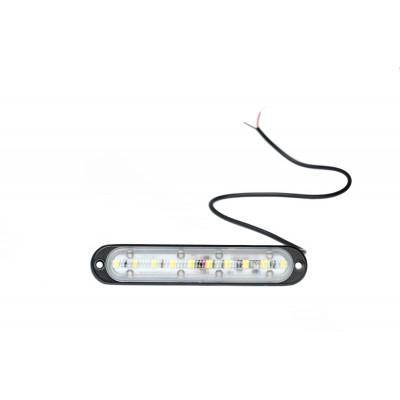 Светодиодный маркер прямоугольный 10W, 770Lm, 12-32V, 1 шт