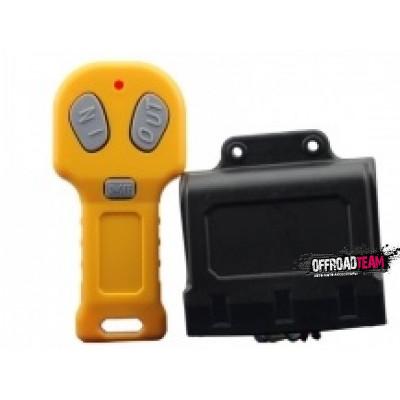 Пульт для лебедки беспроводной, (Желтый) 12Вольт арт: ORT-DU-05