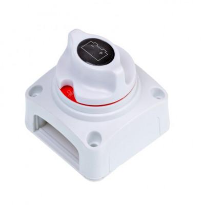 Выключатель массы 275/1250 А, 12-48 В, 72 х 72 х 73 мм, Корпус белый арт: ORT-BIS-5