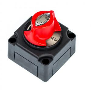 Выключатель массы 275/1250 А, 12-48 В, 68 х 68 х 75 мм, корпус Черный
