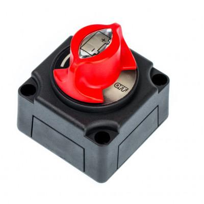 Выключатель массы 275/1250 А, 12-48 В, 68 х 68 х 75 мм, корпус Черный арт: ORT-BIS-9