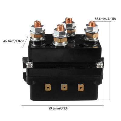 Контактор (Блок соленоидов) 500A, 12V арт: ORT-OR-500