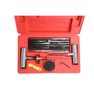 Набор для ремонта проколов бескамерных шин (шило шиномонтажное, 5 жгутов)