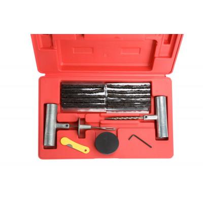 Набор для ремонта проколов бескамерных шин (шило шиномонтажное, 5 жгутов) арт: ORT-RK-01