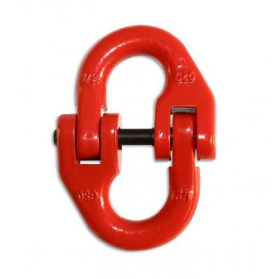 Петля двойная для фиксации троса, металлическая арт: ORT-HL-01