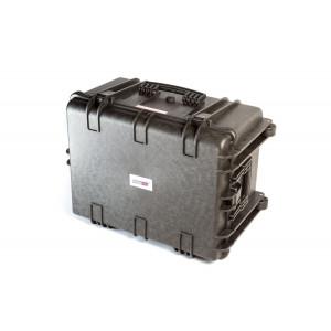 Кейс пластиковый объем 84.28л с колесиками арт: ORT-84.28L