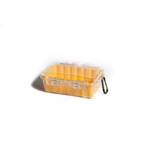 Кейс пластиковый с прозрачной крышкой малый